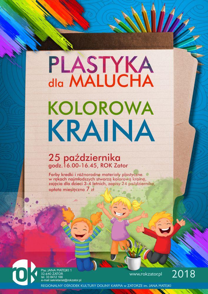 Plastyka dla malucha – Kolorowa Kraina