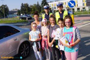 """Akcja """"Bezpieczna droga do szkoły"""" Oświęcim-Przeciszów 2018"""