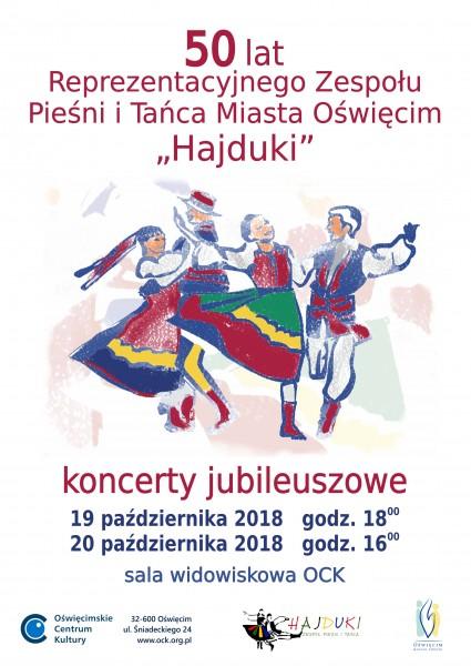 Koncerty jubileuszowe Hajduków