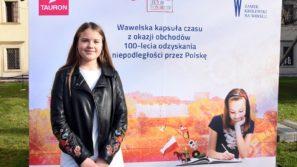 List Julki Mostowik został zamknięty w kapsule czasu na Wawelu