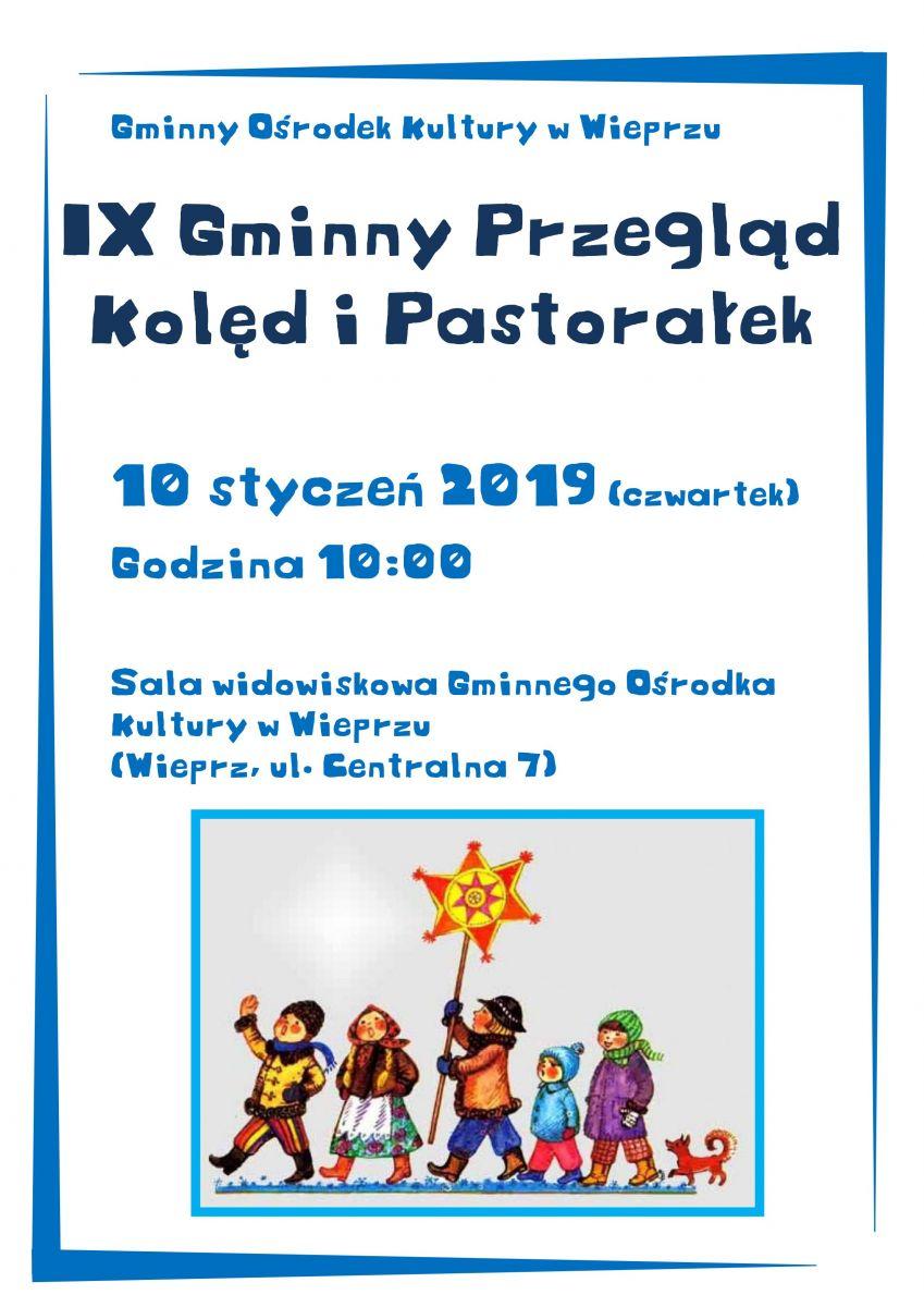 IX Gminny Przegląd Kolęd i Pastorałek w Wieprzu