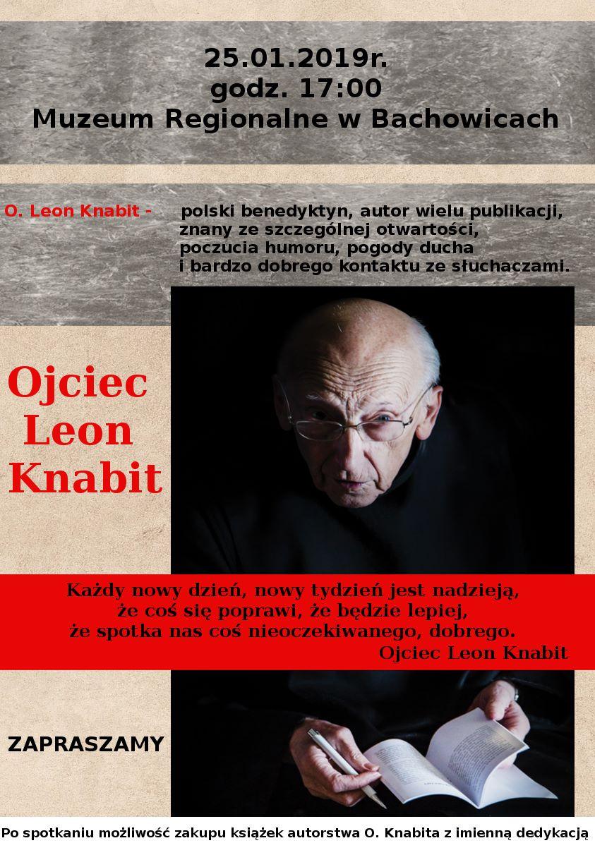 Spotkanie z Ojcem Leonem Knabitem w Bachowicach