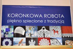 """""""Koronkowa robota. Piękno splecione z tradycją"""" – wystawa w Muzeum Zamek w Oświęcimiu"""