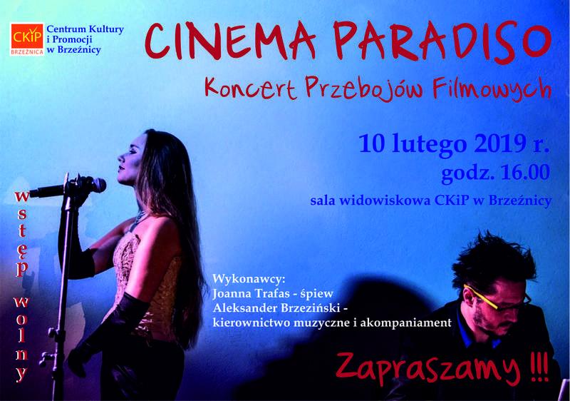 """Koncert ,,Cienema Paradiso"""" w Brzeźnicy"""