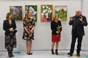 Wernisaż wystawy Lidii Kurnik i koncert Weroniki Milik w Chełmku