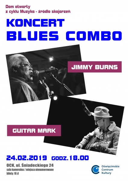 Blues combo – Jimmy Burns i Guitar Mark