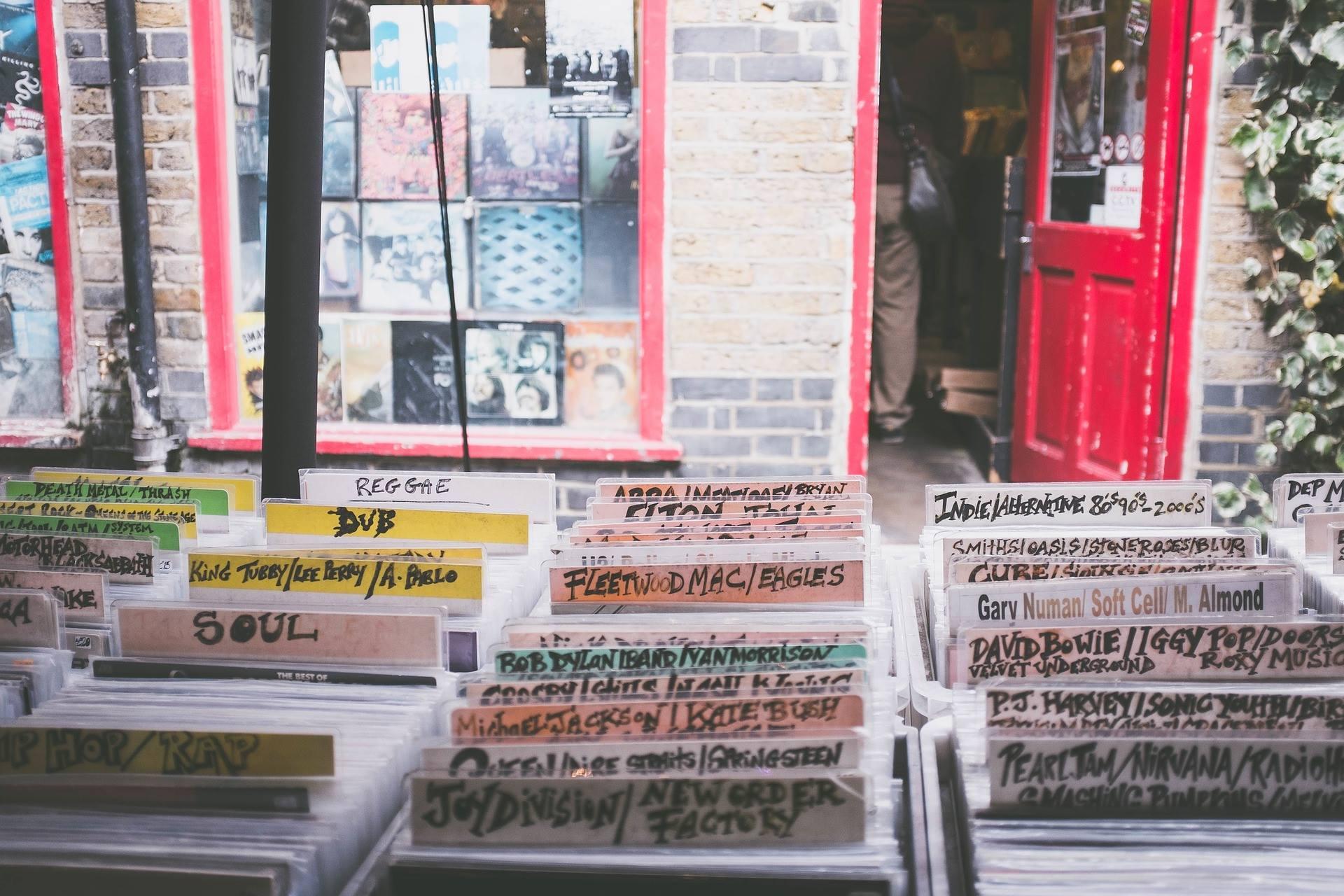 Winyl KRAM w Cafe Bergson # 2: Record Store Day Oświęcim