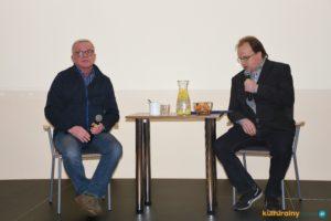 Spotkanie z Wojciechem Wikarkiem filmowcem amatorem w Oświęcimiu