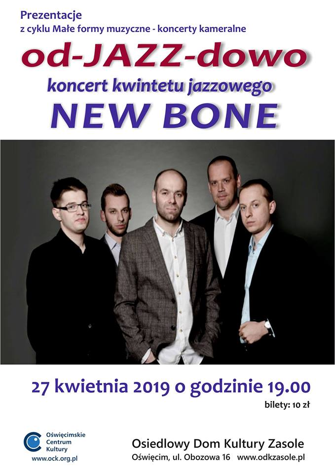 Koncert kwintetu jazzowego New Bone