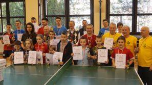 Rodzinny Turniej Tenisa Stołowego Przedwiośnie 2019