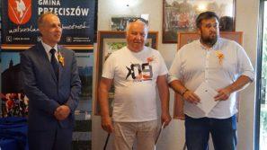 Wernisaż akwareli Zdzisława Połącarza w Gminie Przeciszów