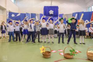 Pasowanie na uczniów w Szkole Podstawowej Nr 4 w Oświęcimiu
