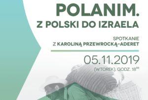 """""""Polanim. Z Polski do Izraela"""" – kolejne ciekawe spotkanie w Cafe Bergson"""