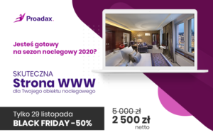 PROADAX z ofertą na BLACK FRIDAY