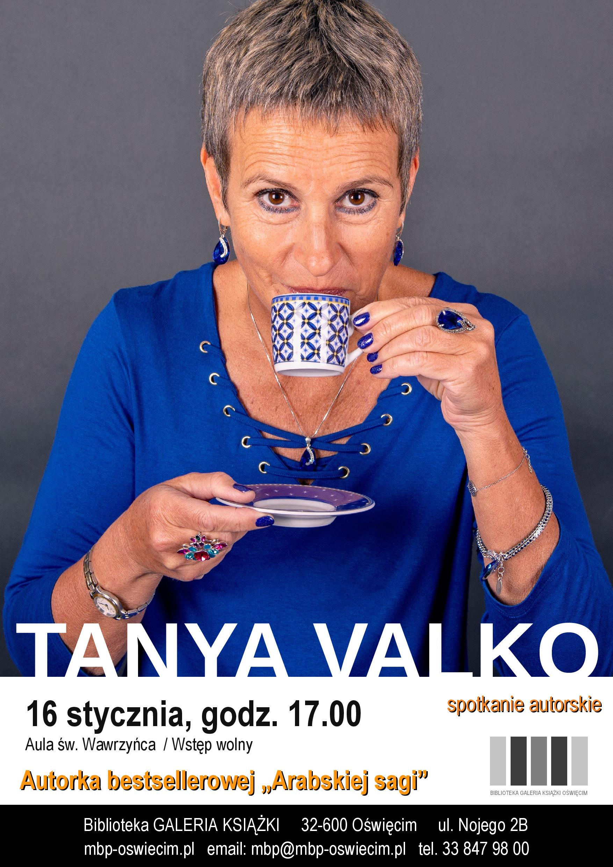 Spotkanie autorskie z Tanyą Valko