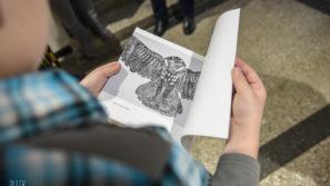 """""""Linoryt"""" – galeria zdjęć z wernisażu w Przeciszowie"""