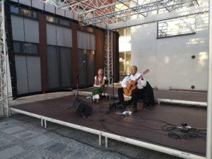 Koncert Piotra Kłeczka ostatnim z cyklu letnich koncertów w Zatorze