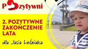 2. Pozytywne zakończenie lata dla Jasia Leśniaka